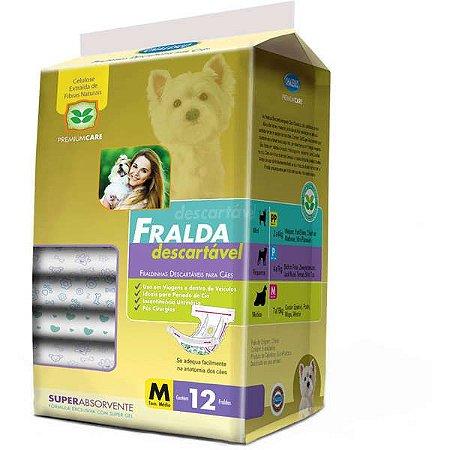 Fralda Descartável American Pets - 12 Unidades