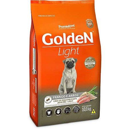 Ração Golden Cães Adultos Light Mini Bits Frango - 1kg