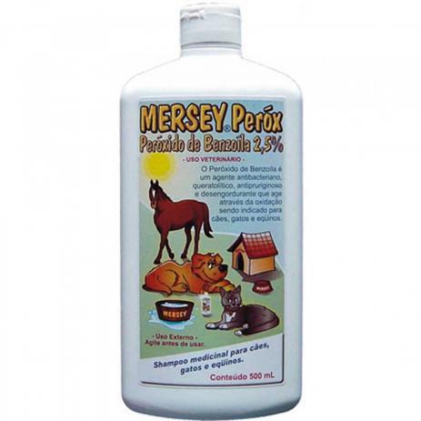 Shampoo Mersey Peróx para Cães Gatos e Equinos 500ml