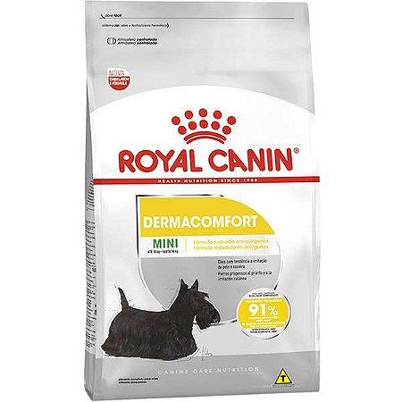 Ração Royal Canin Mini Dermacomfort - 2,5kg