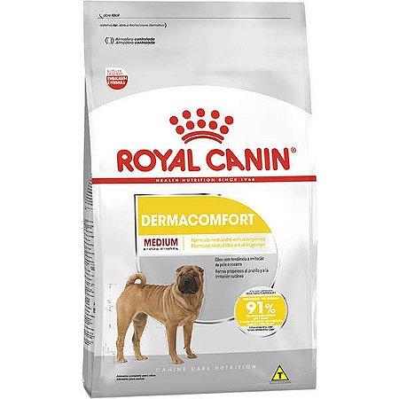 Ração Royal Canin Medium Dermacomfort - 10kg