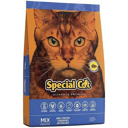Ração Special Cat Mix Premium para Gatos Adultos - 3kg