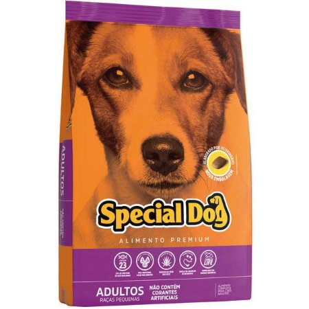 Ração Special Dog Premium para Cães Adultos de Raças Pequenas - 1kg