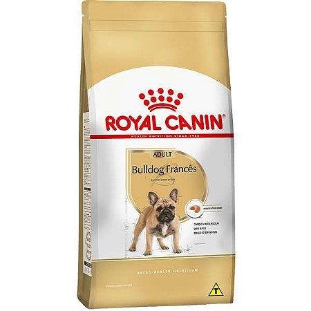 Ração Royal Canin para Cães Adultos da Raça Bulldog Francês - 2,5kg