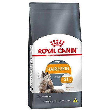 Ração Royal Canin Hair & Skin Care para Gatos Adultos - 1,5Kg