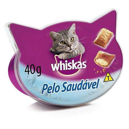 Petisco Whiskas Temptations Pelo Saudável - 40 g