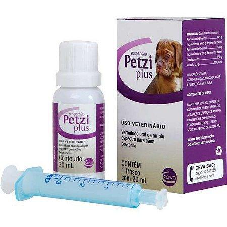 Vermífugo Ceva Petzi Plus Suspensão - 20ml
