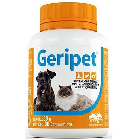 Suplemento Vetnil Geripet Comprimido - 30 compr
