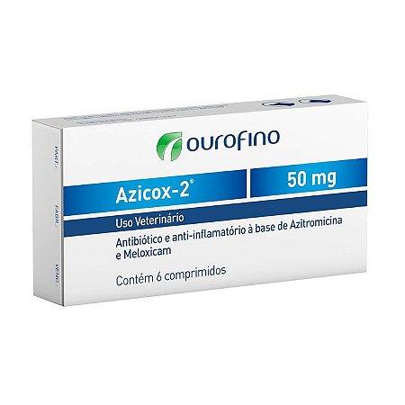Azicox 2 de 6 Comprimidos