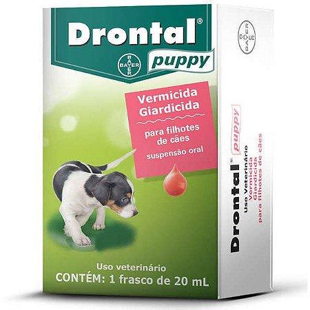 Vermífugo Drontal Puppy - Frasco 20ml