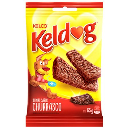 Bifinho Kelco Keldog Churrasco - 65gr