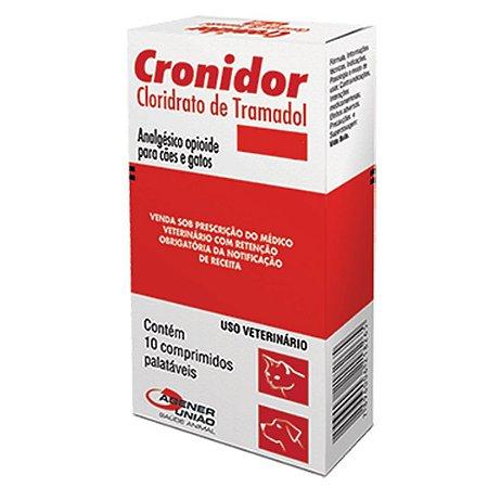 Cronidor 10 Comprimidos