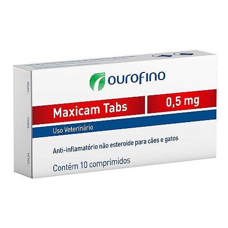 Anti-inflamatório Ouro Fino Maxicam
