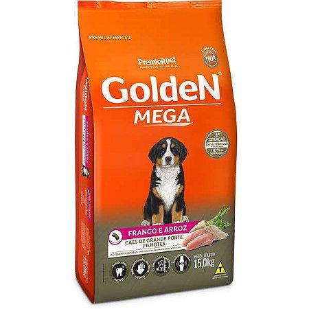 Ração Golden Cães Filhotes Mega - 15kg