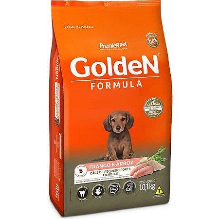 Ração Golden Cães Filhotes Mini Bits Frango