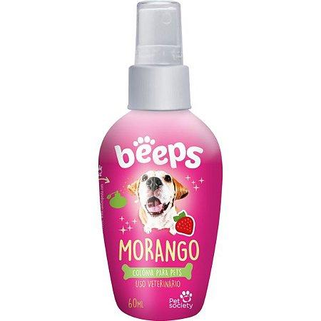 Perfume Pet Society Beeps Morango 60ml