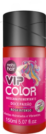 Máscara Pigmentante Vip Color Doce Paixão ( Rosa intenso) 150ml