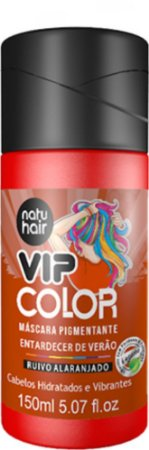 Máscara Pigmentante Vip Color Entardecer de Verão ( Ruivo Alaranjado) 150ml