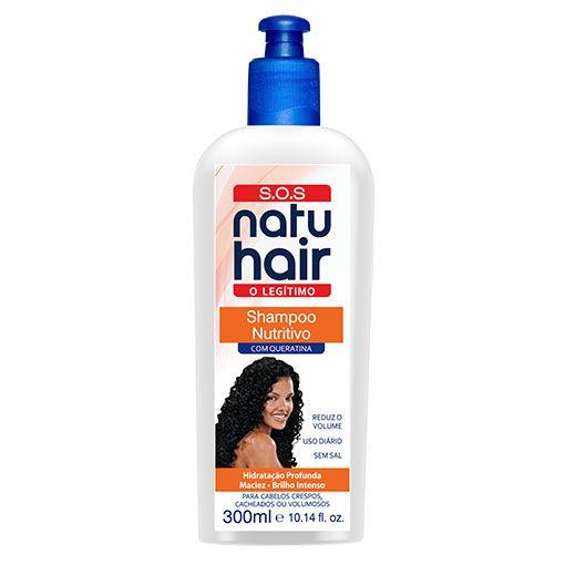 Shampoo Tradicional S.O.S NatuHair 300ml