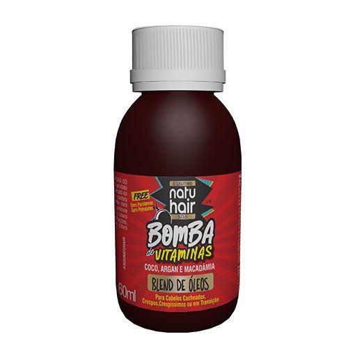 Blend de Óleos Bomba de Vitaminas SOS NatuHair  60ml