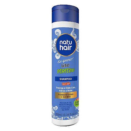 Shampoo Liso Perfeito Eu Quero! NatuHair 300ml
