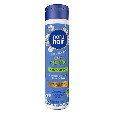 Condicionador Liso Perfeito Eu Quero! NatuHair 300ml
