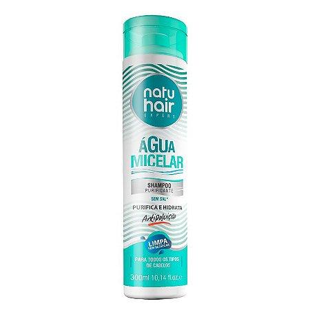 Shampoo Água Micelar NatuHair 300ml