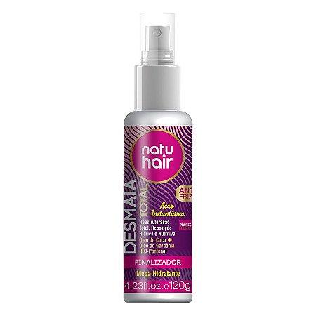 Spray Finalizador Desmaia Total NatuHair 120ml