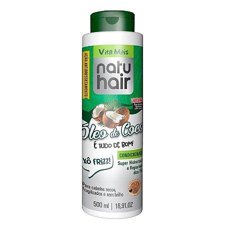 Shampoo Vita Mais NatuHair Óleo de Coco 500ml