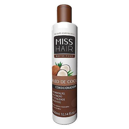 Condicionador Óleo de Coco Miss Hair  300ml