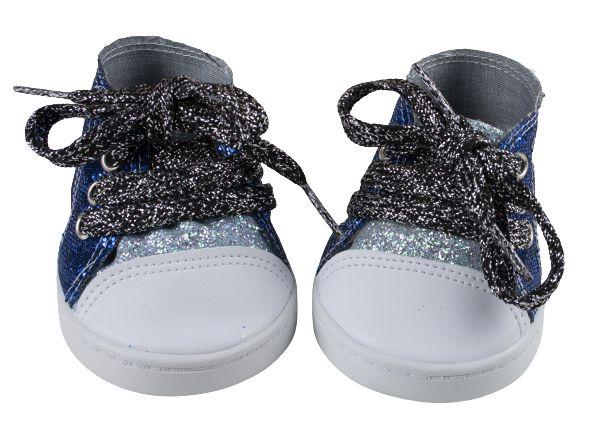 Tênis Azul Glitter