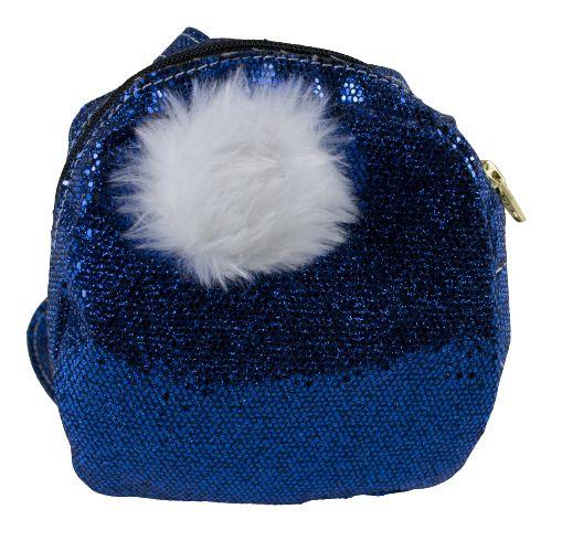 Mochila Azul Glitter