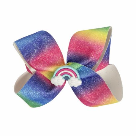 Laço Colorido de Glitter Criamigos