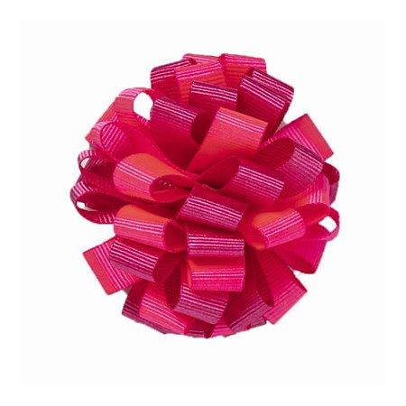 Laço em Pompom Rosa Criamigos