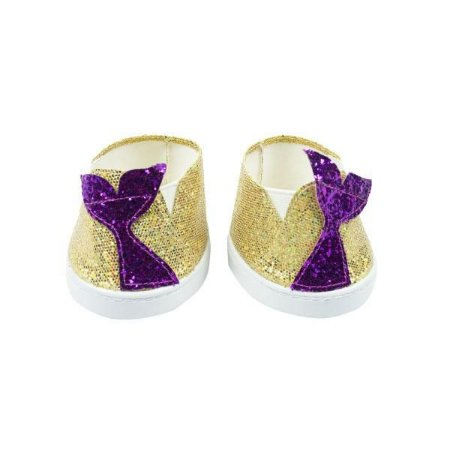 Tênis Glitter Dourado Sereia