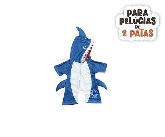 Macacão Azul Tubarão