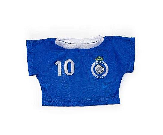 Camiseta Time Azul e Branco 6