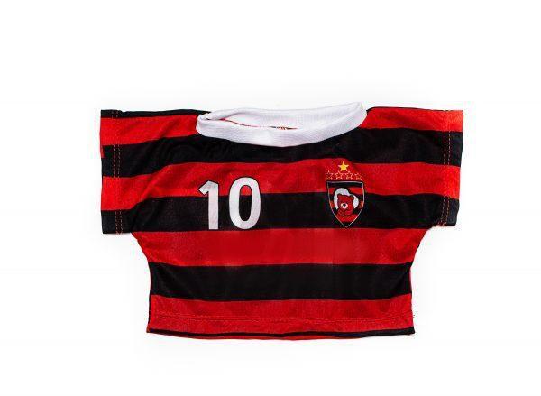 Camiseta Time Vermelho e Preto 4