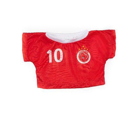 Camiseta Time Vermelho 10