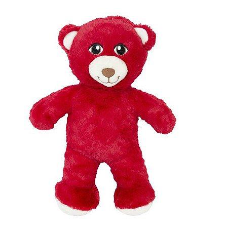 Urso Pelo Alto Vermelho
