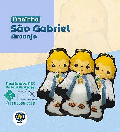 ALMOFADA BONECO SAO GABRIEL