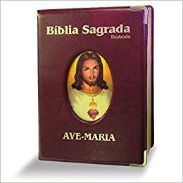 BIBLIA ILUSTRADA LUXO - GRANDE- MARROM