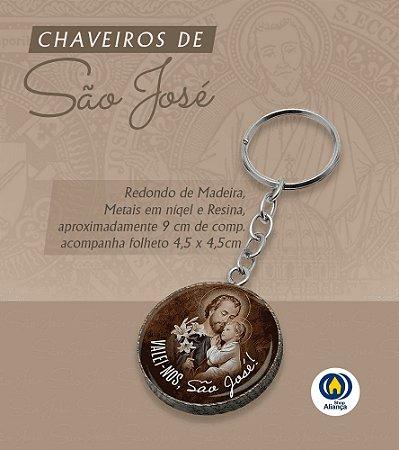 CHAVEIRO MAD RED RES SAO JOSE