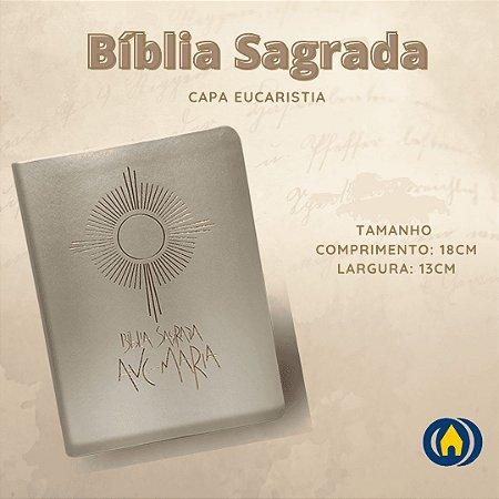 BIBLIA SAGRADA CAPA EUCARISTIA