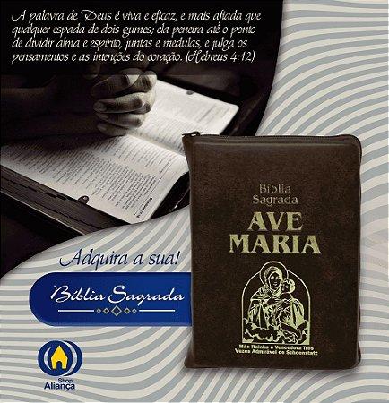 BIBLIA SAGRADA MAE RAINHA - ZIPER
