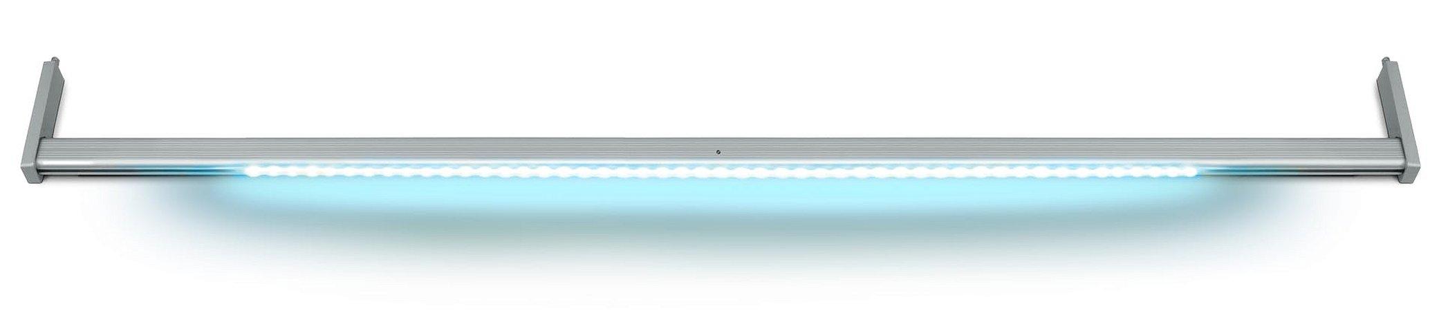 Cabideiro Led Editável 6000K Sensor Presença Aluminio 1200mm