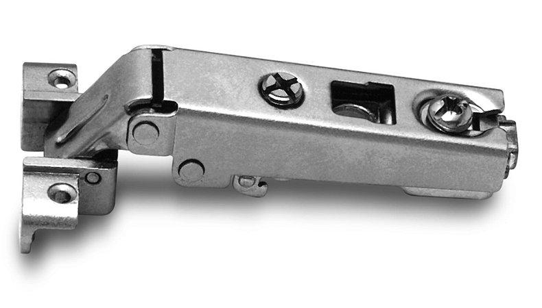 Dobradiça Slide-On MS41 Reta para Alumínio 105°