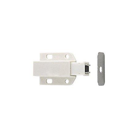 Fecho Toque Magnético Plástico ABS Branco