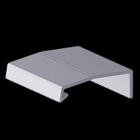 Perfil Puxador Arezzo 18mm Inox Escovado barra com 3 metros