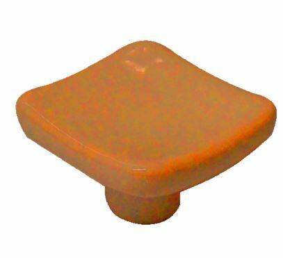 Puxador Ponto IL7017 Laranja 36mm